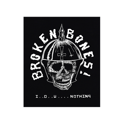 BackPatch BROKEN BONES Canvas