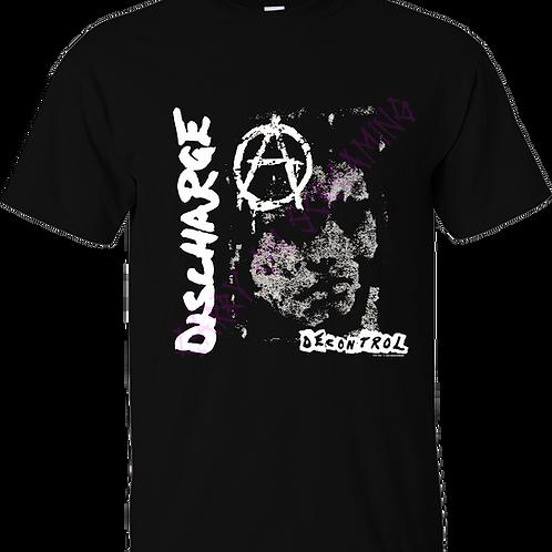 "T-Shirt DISCHARGE ""Decontrol"""