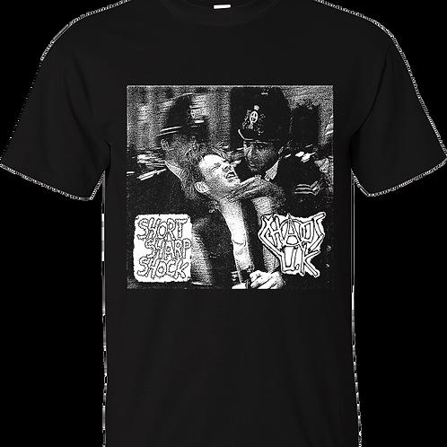 "T-Shirt CHAOS UK ""Short Sharp Shock"""