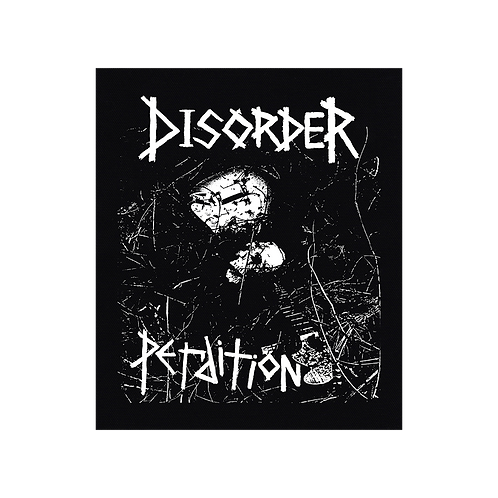 BackPatch DISORDER 'Perdition' Canvas