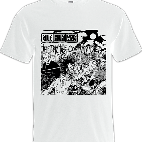 "T-Shirt SUBHUMANS ""The Day the Country Died"""