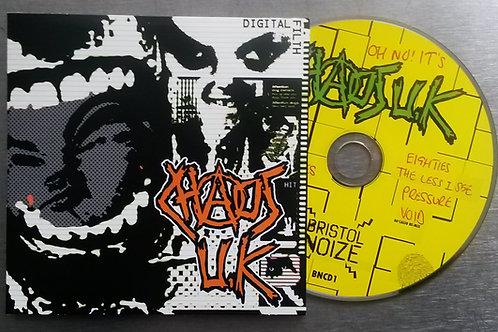 "CD CHAOS UK ""Digital Filth"" Brand New CDEP"