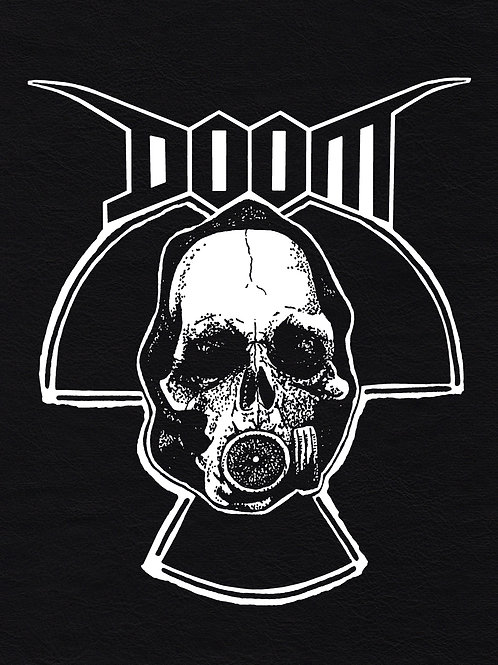 Faux Leather BackPatch DOOM