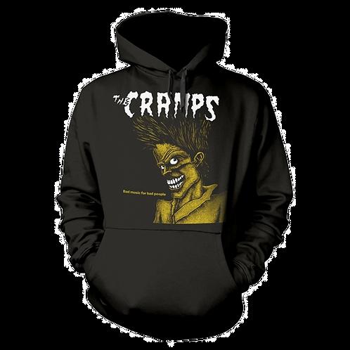 Hooded Sweatshirt CRAMPS Bad Music For Bad People
