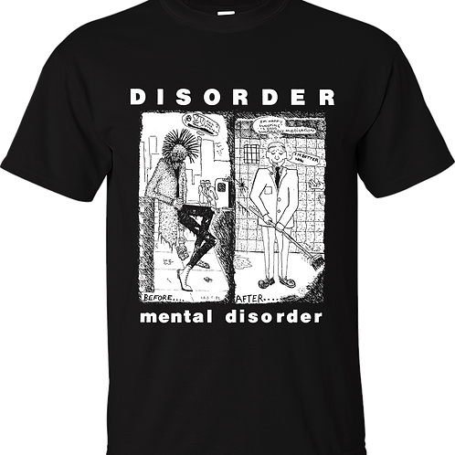 "T-Shirt DISORDER ""Mental Disorder"""