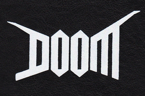 Doom PATCH Faux Leather