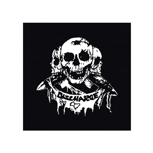 "DISCHARGE ""3 Skulls"" Patch"
