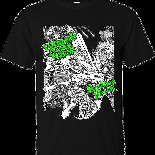 "T-Shirt EXTREME NOISE TERROR ""HARDCORE ATTACK"""
