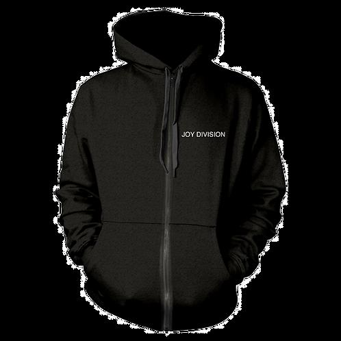 Zip Hoodie Sweatshirt JOY DIVISION Unknown Pleasures