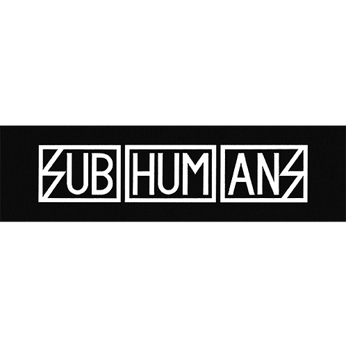 "PATCH SUBHUMANS ""Logo"""