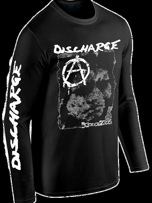 """L/S T-Shirt DISCHARGE """"Decontrol"""""""