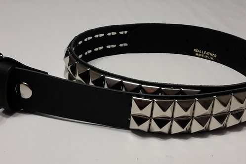 KIDS BELT 2 Row Pyramid Leather