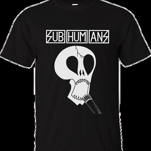 SUBHUMANS T-Shirt 'Skull'