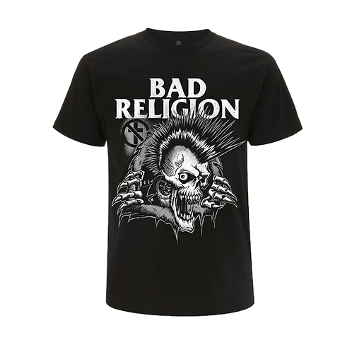T-Shirt BAD RELIGION 'Bust Out'