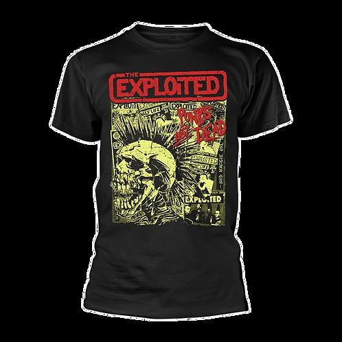 T-Shirt EXPLOITED Punks Not Dead (Black)