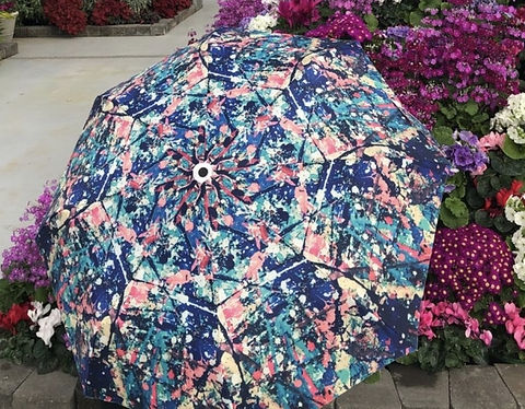 Kaleidoscope umbrella