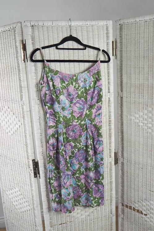 Vintage Lilac Mini Dress - 6UK