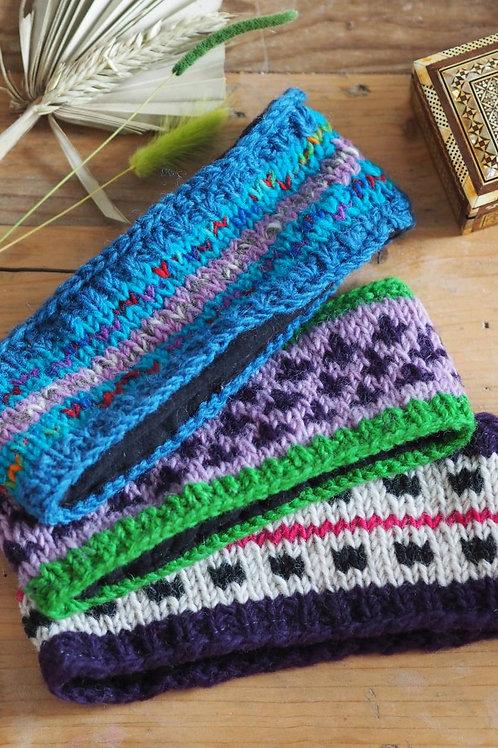Fair trade Knitted Wool Headband