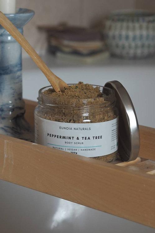 Peppermint and Tea Tree Body Scrub