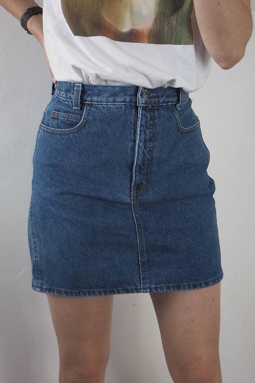 Vintage Denim Calvin Klein Skirt - 8UK