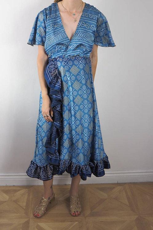 Re-Sari Wrap Dress 06 - 8-12UK