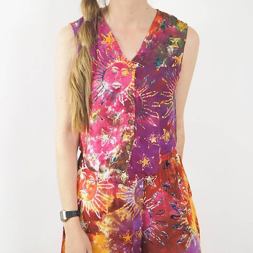 Fair Trade Sun Tie Dye Top