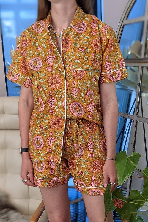 Molly Orange Cotton Pyjamas