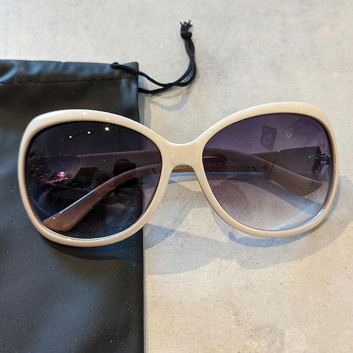Large White Sunglasses