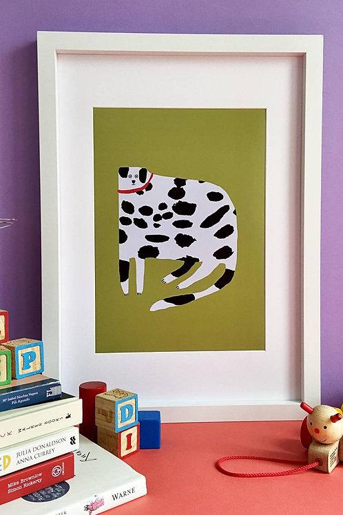 Dalmatian A4 Print