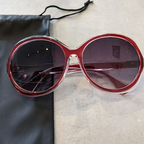 Red Large Sunglasses