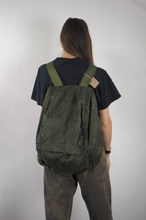 Vintage Khaki Large Backpack