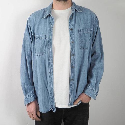 Vintage Denim St Johns Shirt - M