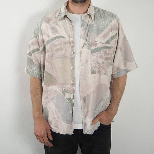 Vintage Pastel Accanto 90's Shirt -M