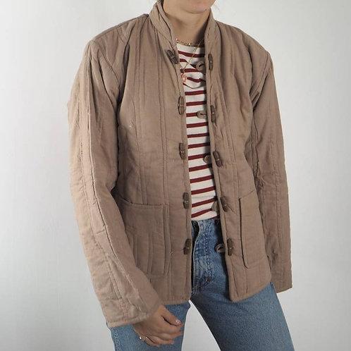 Vintage Dusty Pink Padded Indian Jacket 8-12UK
