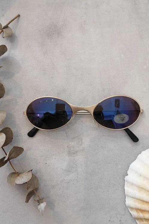 Vintage 90's Oval Mirror Sunglasses