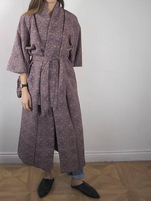 Vintage Pink Parisienne Kimono - 8-18UK