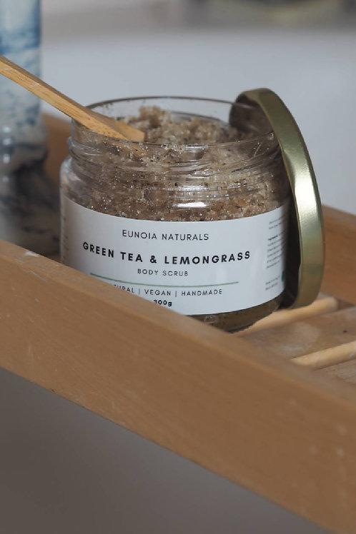 Green Tea  and Lemongrass Body Scrub