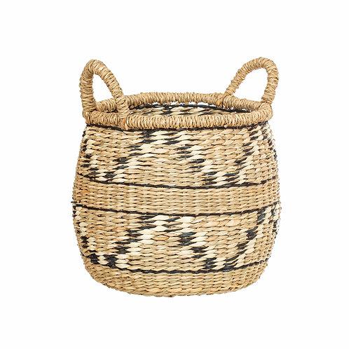 Seagrass Zig Zag Basket