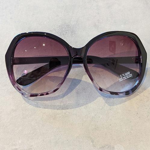 Large Purple Sunglasses