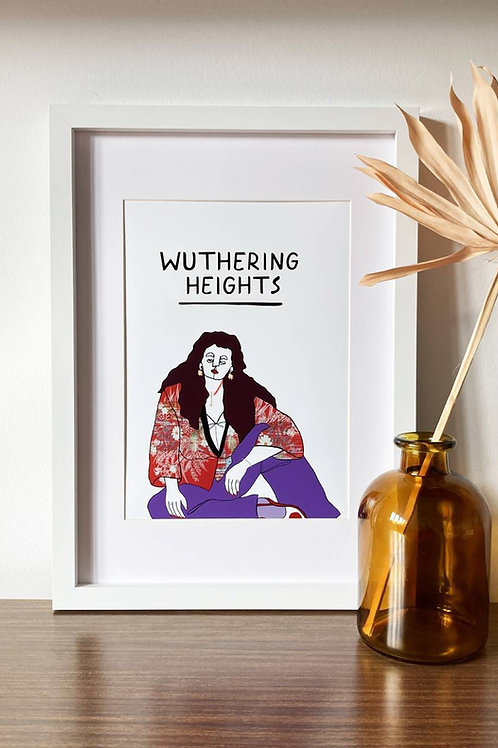 Wuthering Heights A4 Print