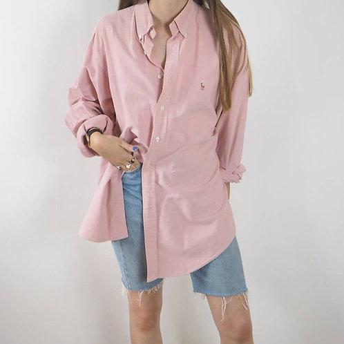 Vintage Pink Ralph Lauren Shirt - OS