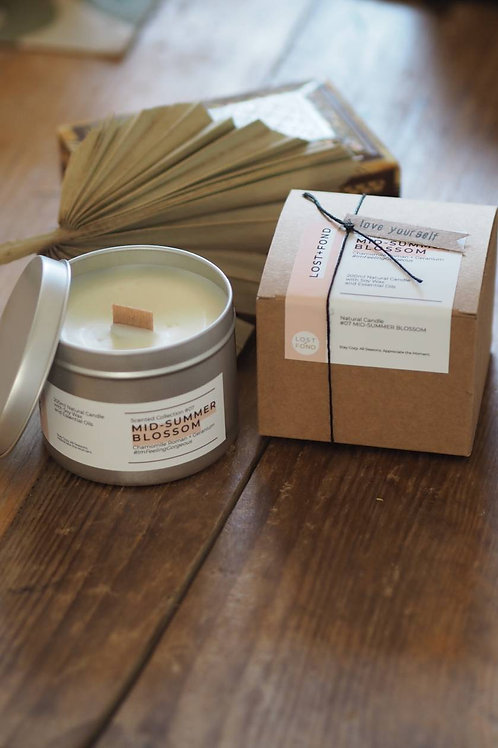 Mid-Summer Blossom Candle