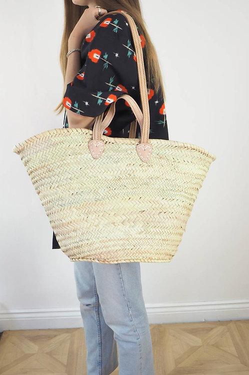 Double Handle Basket Bag