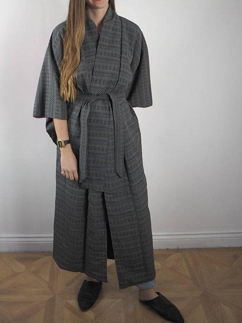 Vintage Grey Inca Kimono - 8-18UK