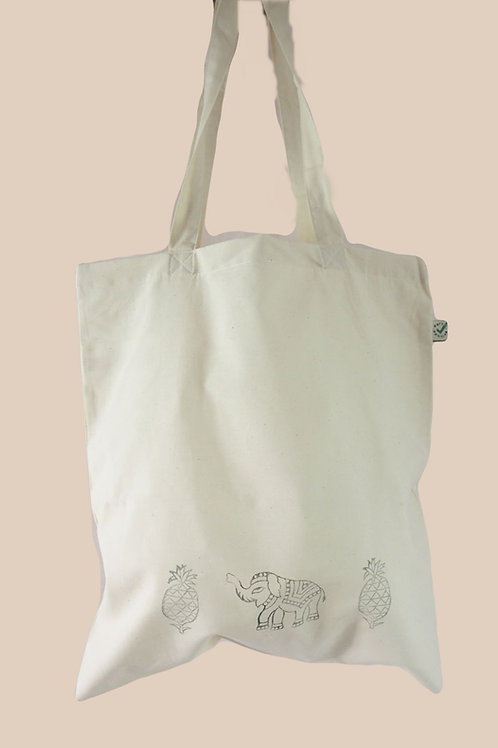 Jajja's Pineapple & Elephant bag