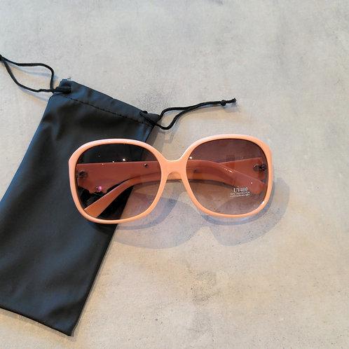 Pink Large Sunglasses