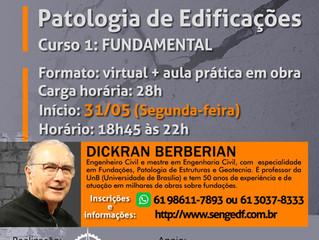 Curso Patologia de Edificações