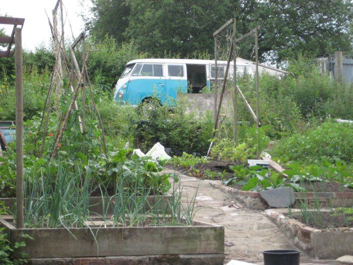 Van and Garden