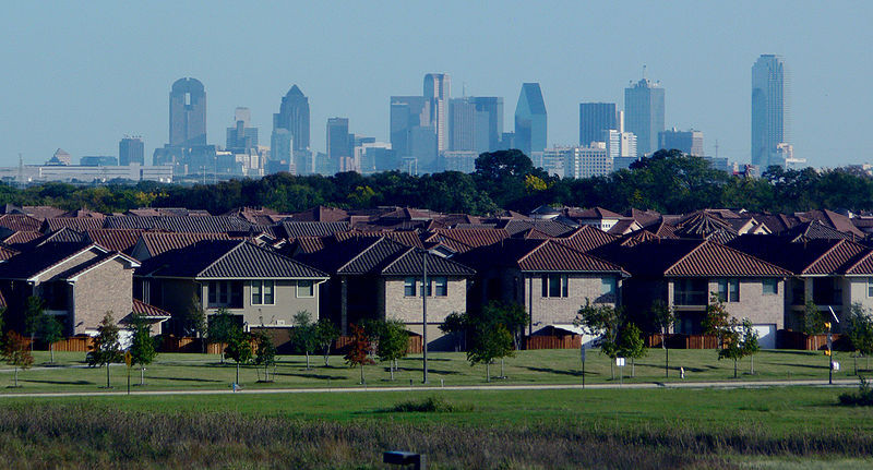 Suburb and Skyline