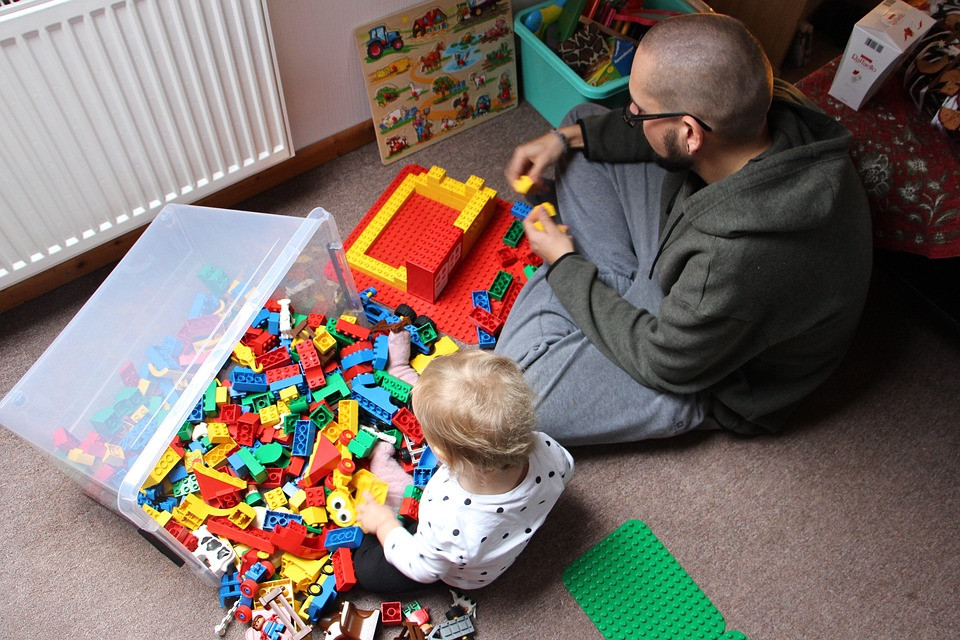 Legos with Dad